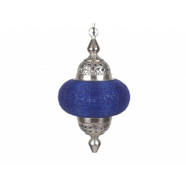 Hanglamp Casablanca klein blauw kleur