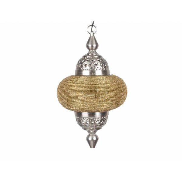Hanglamp Casablanca klein goud kleur