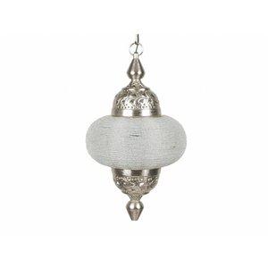 Hanglamp Casablanca klein zilver kleur