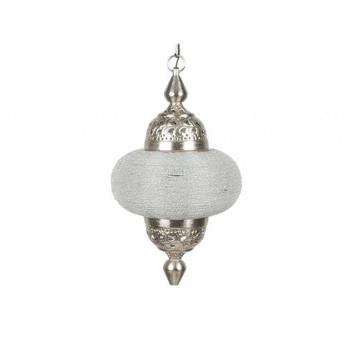 Hanglamp Casablanca klein zilver