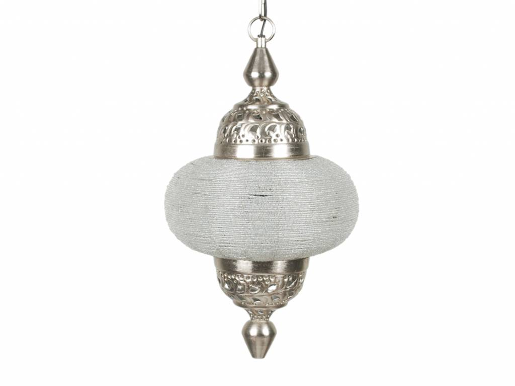 hanglamp arabesque klein zilver de pauw wonen
