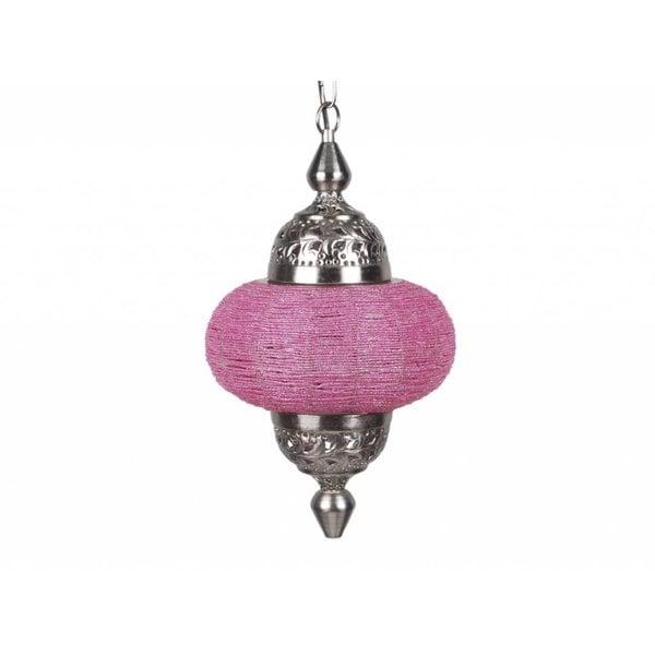 Hanglamp Casablanca klein roze kleur