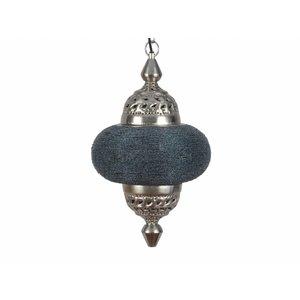 Hanglamp Casablanca klein donker grijs