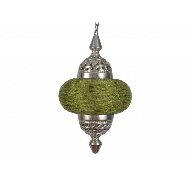 Hanglamp Casablanca klein licht groen