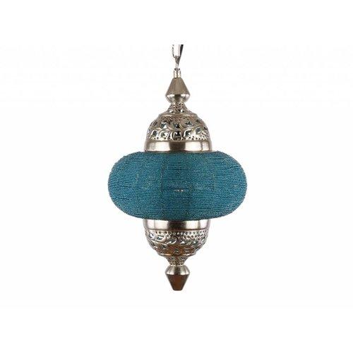 Hanglamp Casablanca klein turquoise