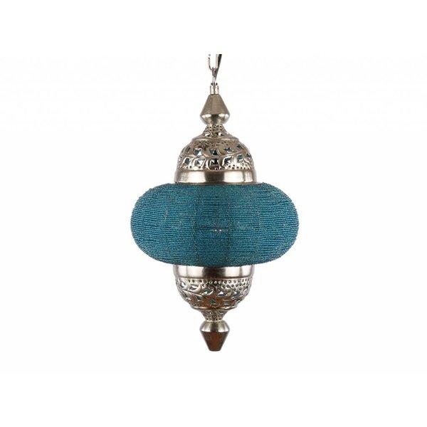 Hanglamp Casablanca klein turquoise kleur