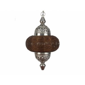 Hanglamp Casablanca klein donker bruin