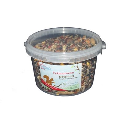 Eekhoorn voedermix 5 liter - 2,5KG