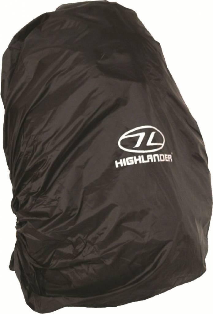 Highlander Rugzak regenhoes - 20-30l - zwart