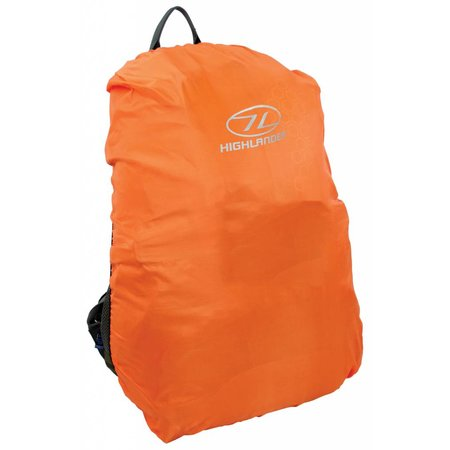 Highlander Backpack regenhoes 60-70 l oranje