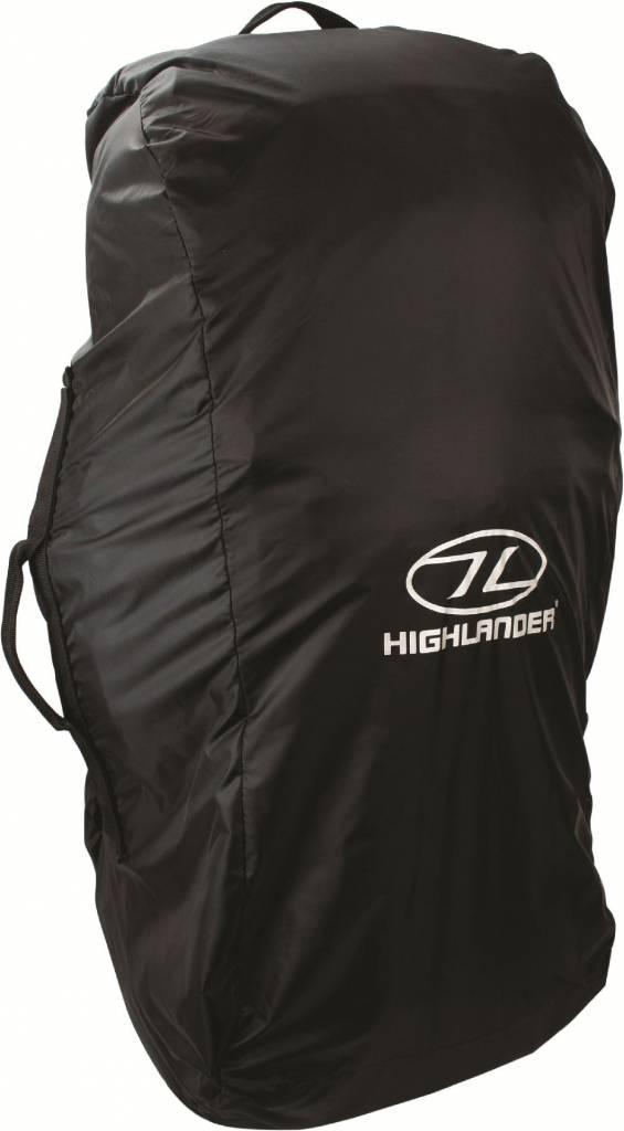 63d8a7dee04 Highlander Combicover - 80-100l - backpack hoes - flightbag - regenhoes -  zwart / Highlander / Accessoires - Hoezen - Regenhoezen