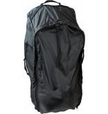 Highlander Combicover - 80-100l - flightbag en regenhoes - zwart