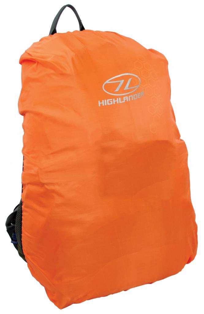Highlander Backpack regenhoes 40-50 liter oranje