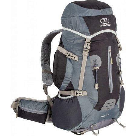 Highlander Rocky - hiking rugzak - 40l - zwart