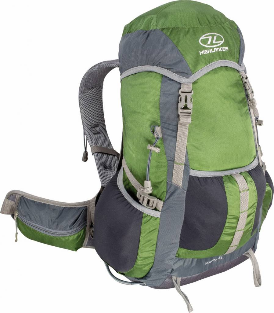 Highlander Cascade hiking daypack 28 l groen