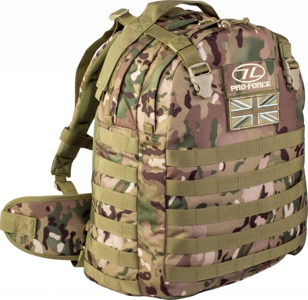 Pro force Tomahawk Elite Ops leger rugzak 30l camouflage Pro force