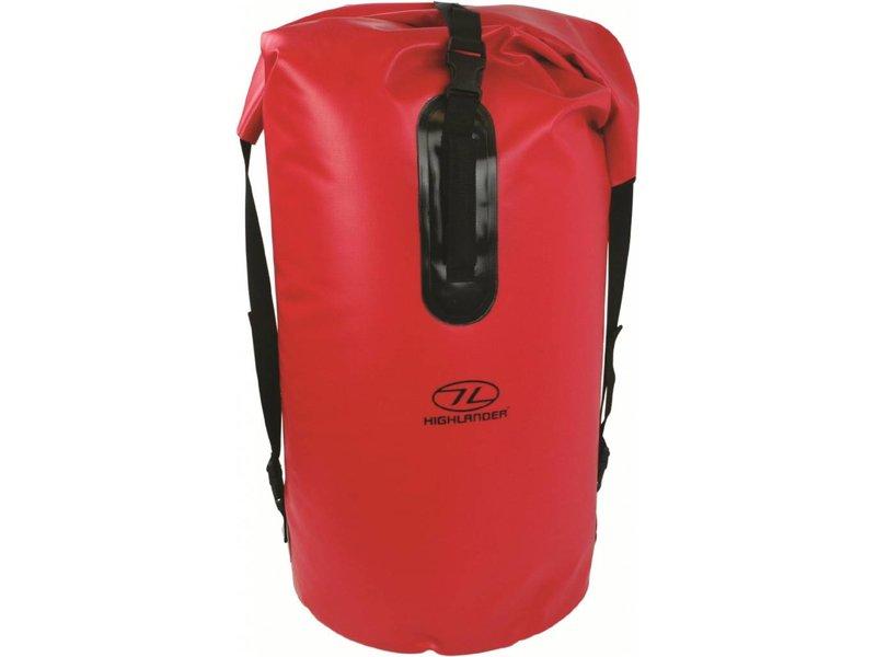 Highlander Monaco - Drybag rugzak - 70l - rood