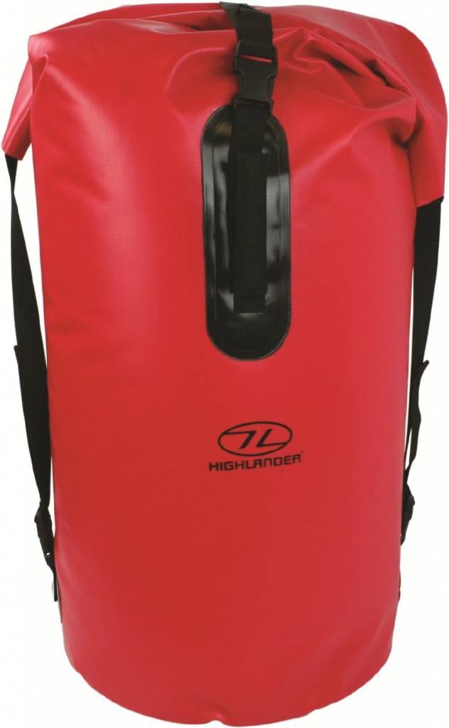 Highlander Monaco Drybag rugzak 70l rood Highlander Het leukste