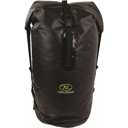 Highlander Monaco - Drybag rugzak - 70l - zwart