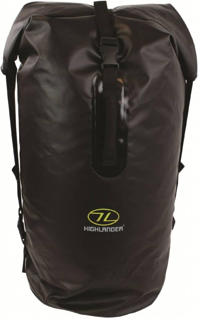 Highlander Monaco Drybag rugzak 70l zwart