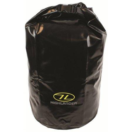 Highlander drybag - medium- 29l - zwart