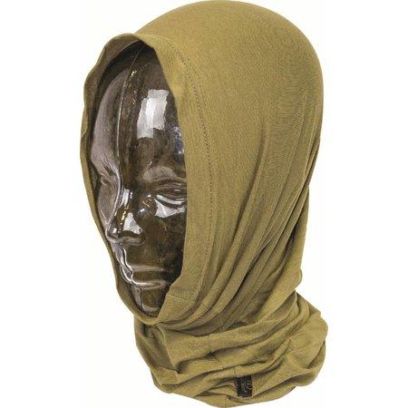 Pro-force headover - hoofd- & nekwarmer - Tan bruin