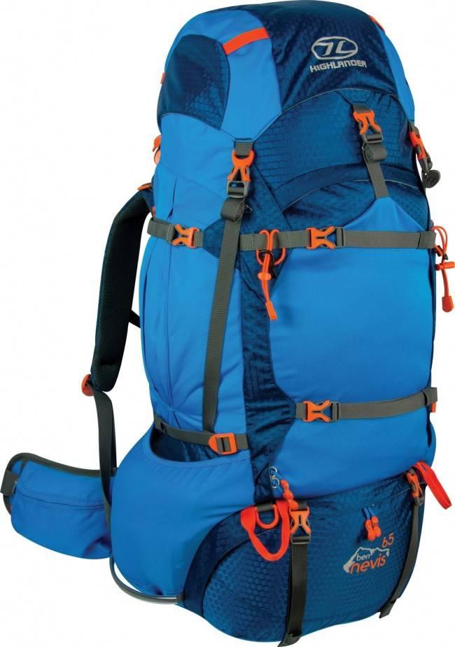 Highlander Highlander Ben Nevis backpack 65L blauw