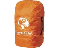 Combi cover M - tot 55l- backpack flightbag & regenhoes - oranje