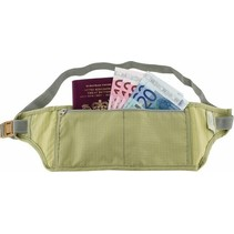 Moneybelt - reisportemonnee - 1 ritsvak - beige