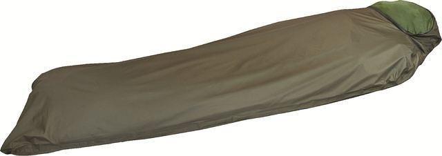 Highlander Highlander Hawk Bivi Bag trekking slaapzak met mosquitonet olive