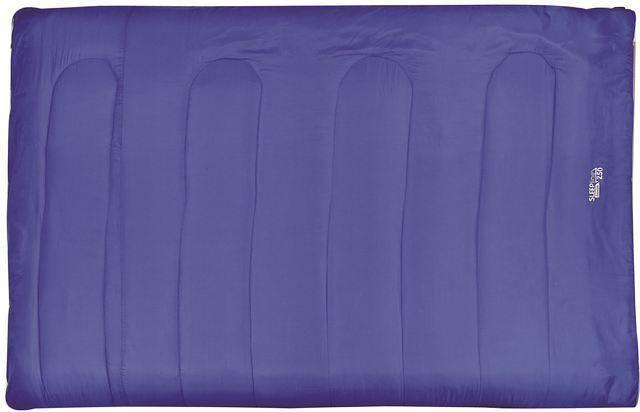 Highlander Sleepline 300 2 persoons rechte slaapzak blauw