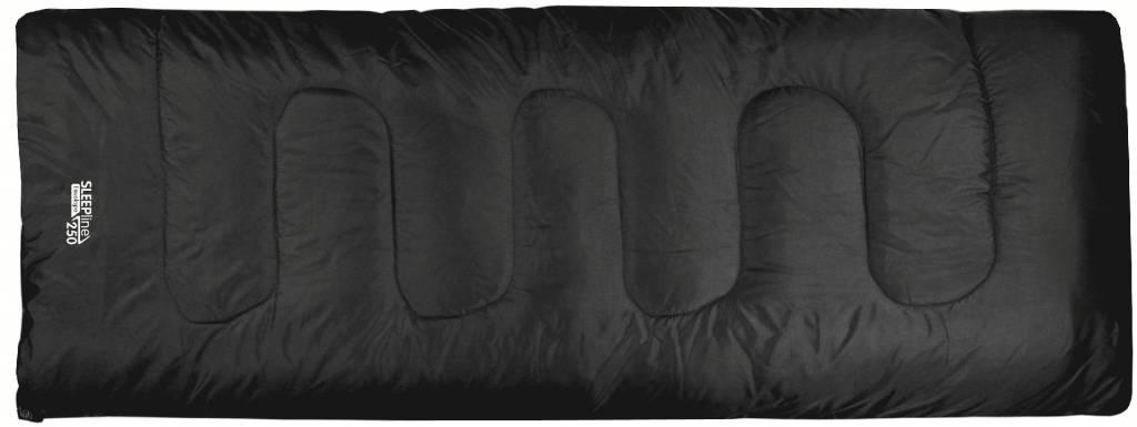 Highlander Highlander Sleepline 250 rechte slaapzak zwart