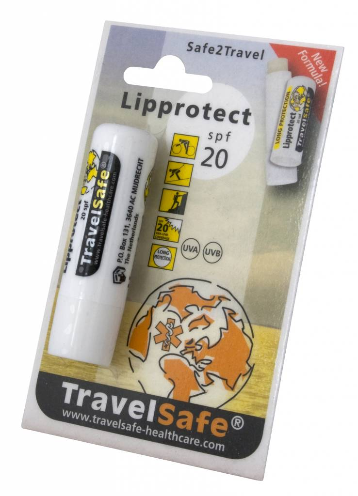 Travelsafe Lippen zonnebrand - Ultra Lip Protector - factor 20