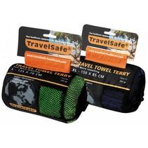 Microvezel reishanddoek XL - 80 x 150 cm - Groen