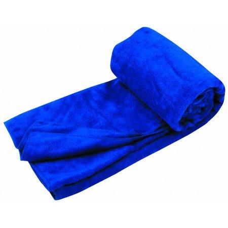 Travelsafe Microvezel reishanddoek XL - 150 x 80 cm - Blauw