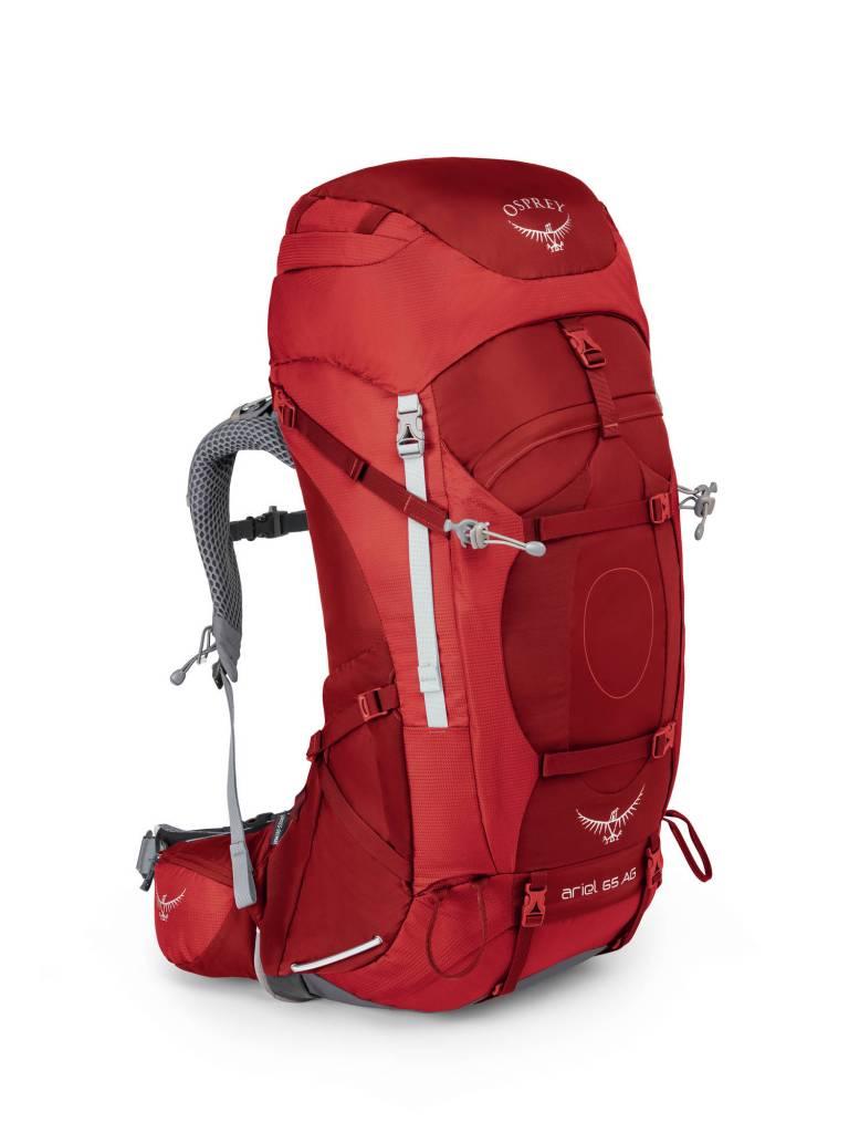 Osprey Osprey Ariel AG M 65l dames Picante Red