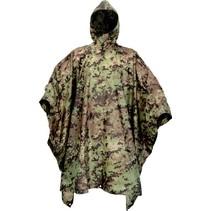 Poncho - camouflage - vegetato italiano