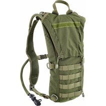 Hydro back - drinkrugzak - 3liter - v-cut - olive green