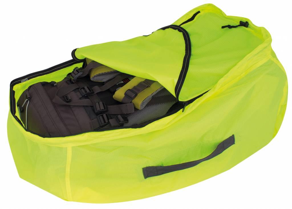 14dddd9d573 Travelsafe Combi cover L – 55-100l – backpack flightbag & regenhoes – geel