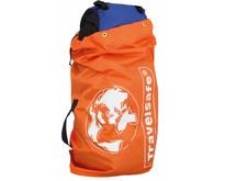 Flight Container - tot 75l - flightbag voor backpacks- oranje