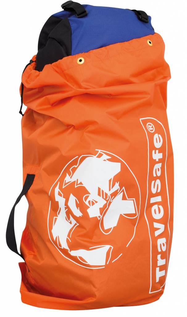 e514e6e183c Travelsafe Flight Container – tot 75l – flightbag voor backpacks- oranje