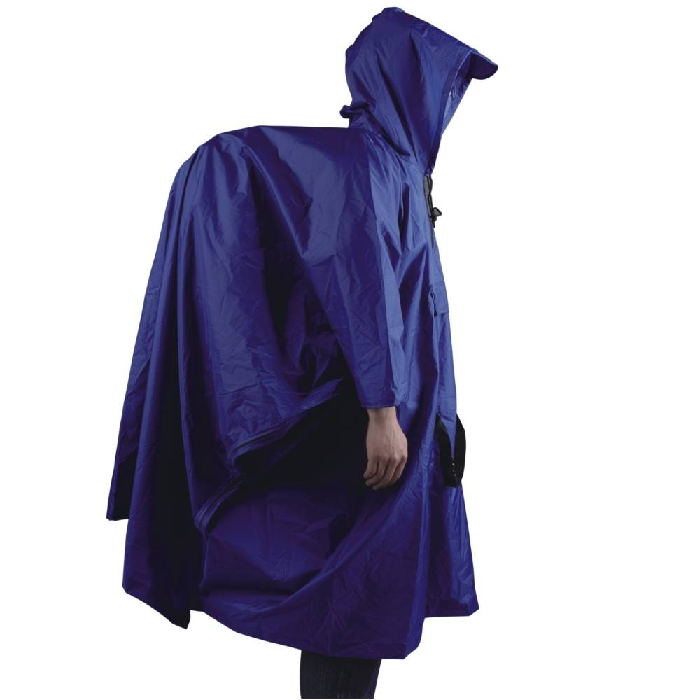 Afbeelding van Ace Camp Poncho premium backpacker - blauw