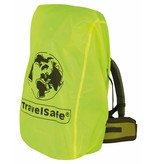 Travelsafe Combi cover L - 55-100l - backpack flightbag & regenhoes - geel