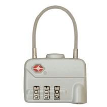 TSA cijferslot met kabel