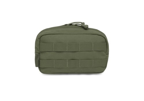 Warrior Elite OPS Medium Horizontal Pouch - Olive Drab