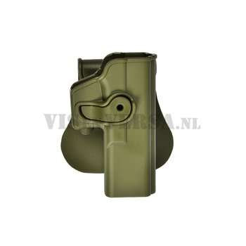 IMI Defense Glock 17/22/28/31 Holster links handig - Olive Drab