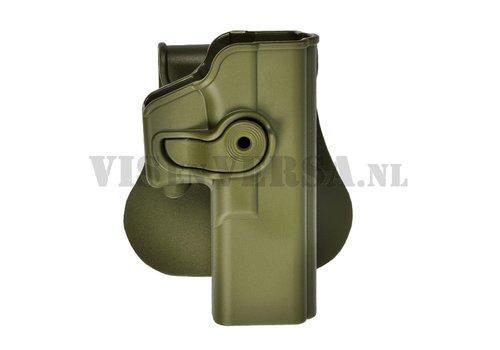 IMI Defense Glock 17/22/28/31 Holster links handig - Olive Drab