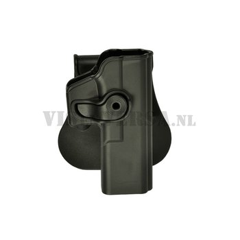 IMI Defense Glock 17/22/28/31 Holster links handig - Zwart