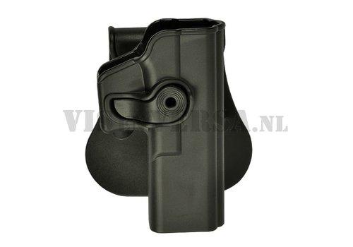 IMI Defense Glock 17/22/28/31 Holster links handig - Zwart