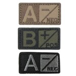 Condor 229 Blood Type Badge - Olive drab